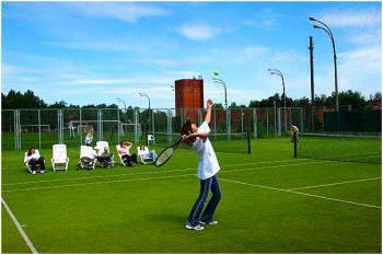 Cỏ nhân tạo sử dụng cho sân tennis